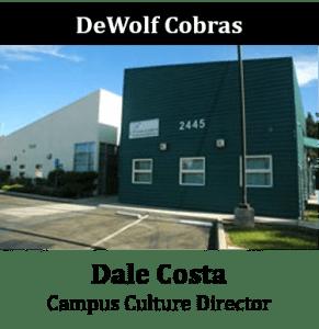 DeWolf Cobras - Dale Costa - Campus Culture Director