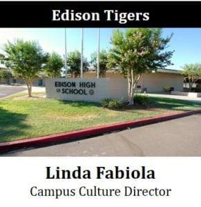 Edison Tigers - Linda Fabiola - Campus Culture Director